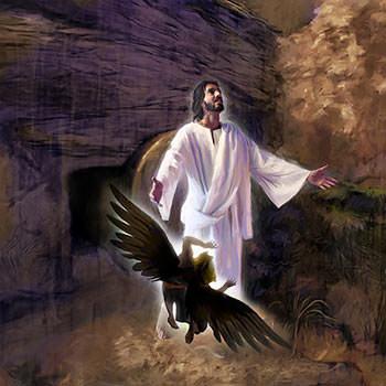 Jesus died to defeat Satan.