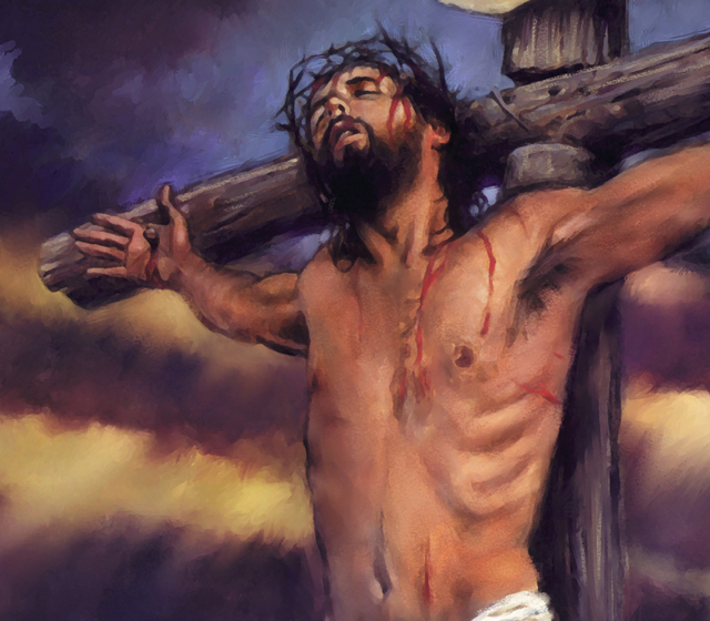What happened at the cross?